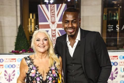 Vanessa Feltz and Ben Ofoedu.