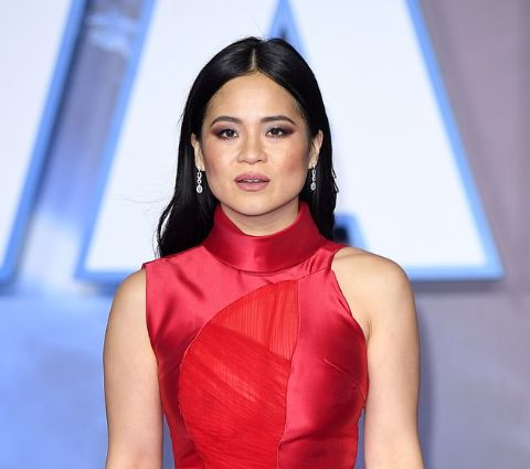 Kelly Marie Tran looks thin at the London premiere of The Rise of Skywalker.
