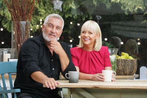 Sherry Yard and Paul Hollywood judge The Great American Baking Show.
