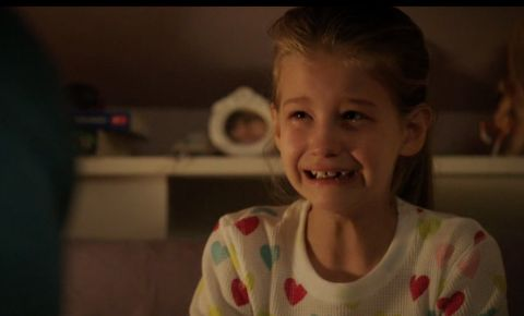 Jaeda Lily Miller in a movie.
