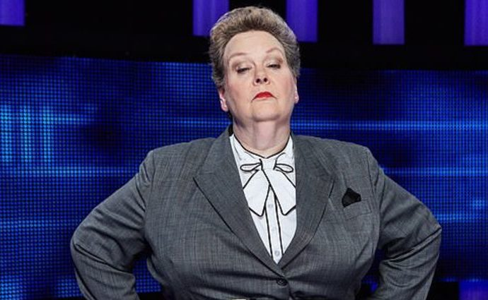 Anne Hegerty isn't married to anyone though it was rumored she had.