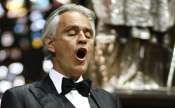 Is Andrea Bocelli' weight loss due to an illness?