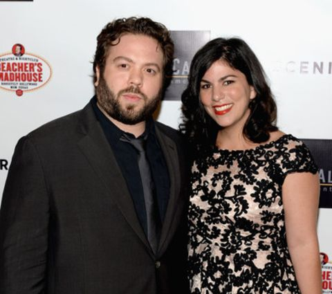 Dan Fogler and his wife Jodie Fogler at the Scenic Route premeire.