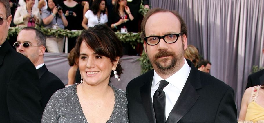 Paul Giamatti and wife Elizabeth Cohen at the 78th Annual Academy Awards in 2006.