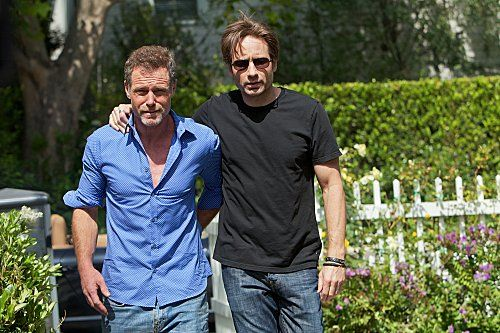 Jason Beghe  with his best friend David Duchovny!