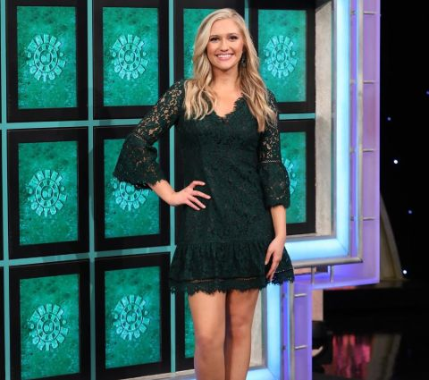 Maggie Sajak appeared on Wheel of Fortune.