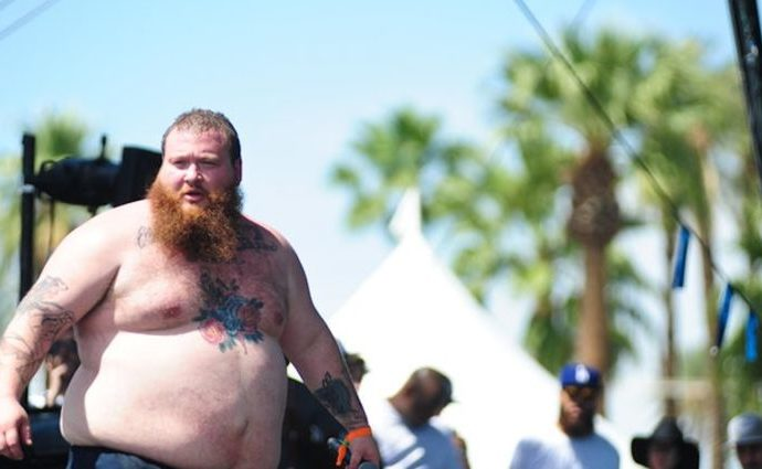 Action Bronson has dropped a tremendous amount of weight in this lockdown.