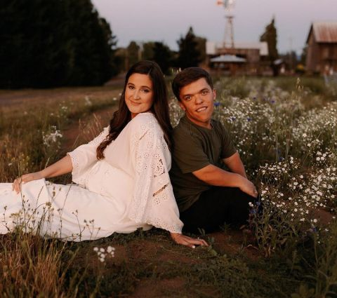 Tori Roloff with her husband, Zachary Roloff.