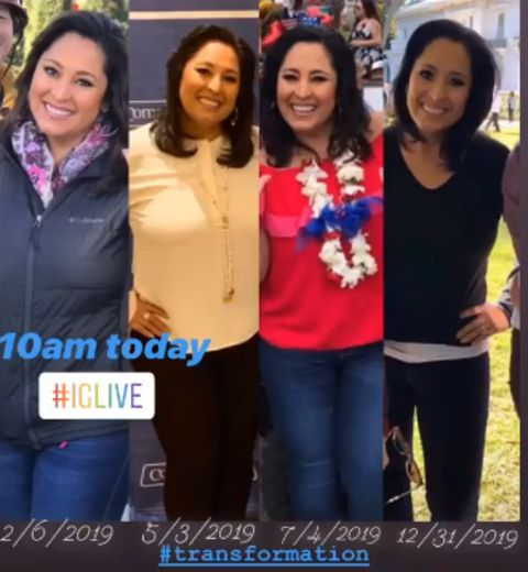 Lynette Romero body transformation.