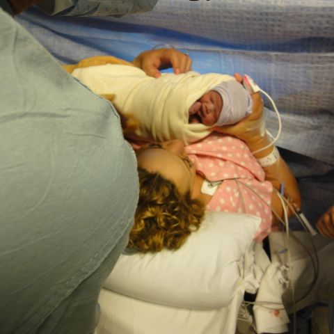 Monroe and Moroccan Scott Cannon during their birth.