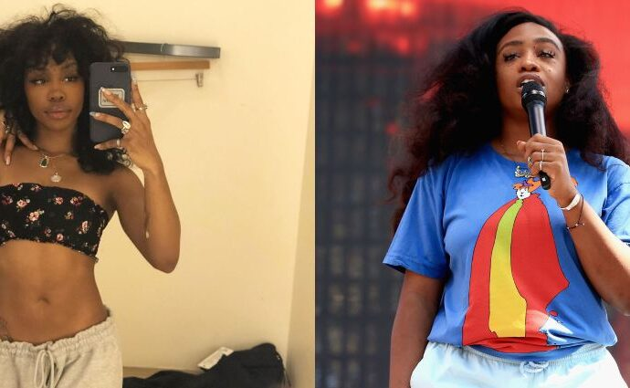 SZA weight loss before and after.