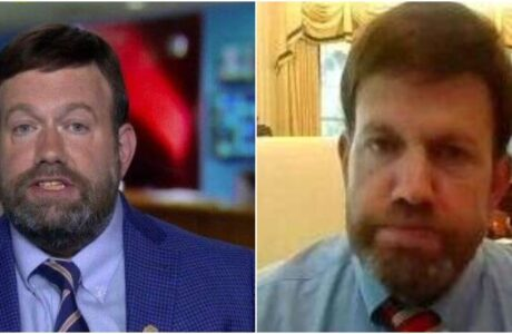 Frank Luntz before and after his weight loss.