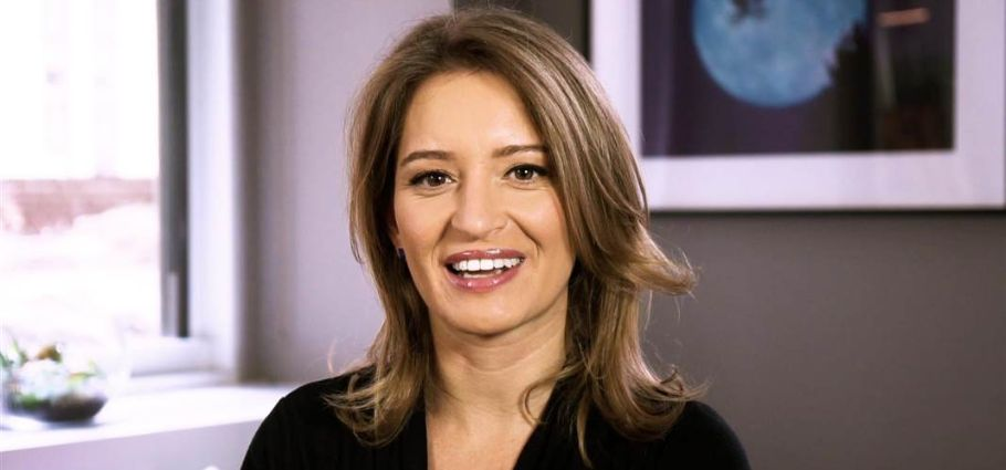 Katy Tur smiling at the camera.