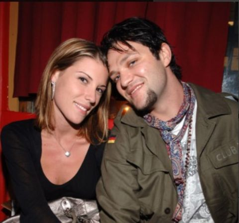 Missy Rothstein and Bam Margera during 2006 MTV Video Music Awards - Oakley's Pre-VMA Bash at Snitch - Inside at Snitch in New York City, New York, United States.