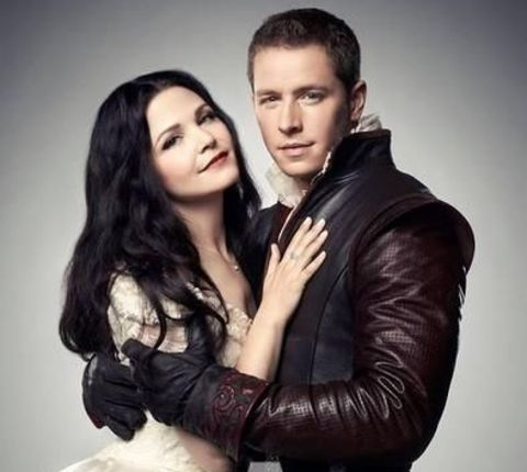 Ginnifer Goodwin and Josh Dallas as Snow White and Prince Charming