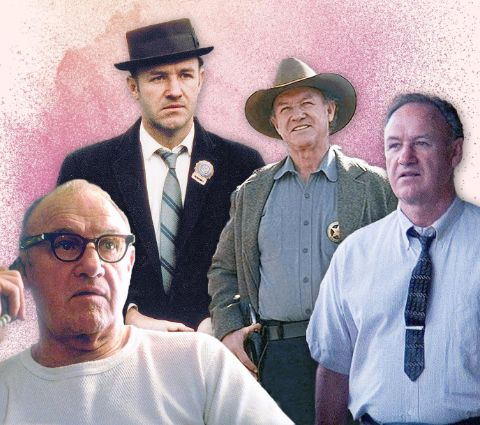 Some of Gene Hackman's characters.