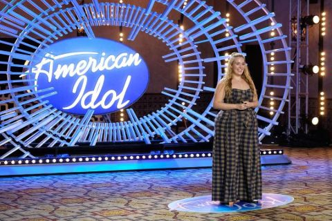 Grace during her American Idol audition.