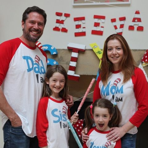 Alyson Denisof's family photo.