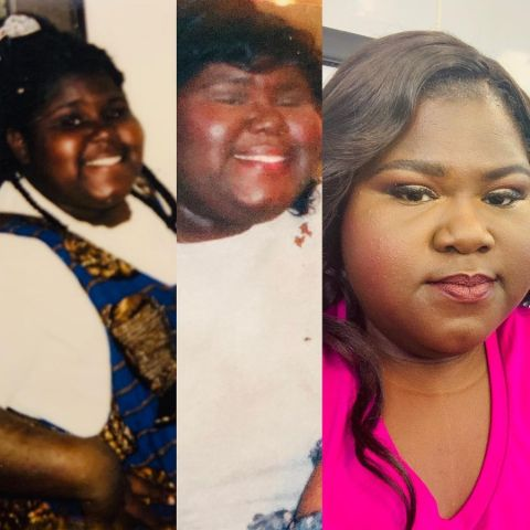 Gabby Sidibe at Different Ages.