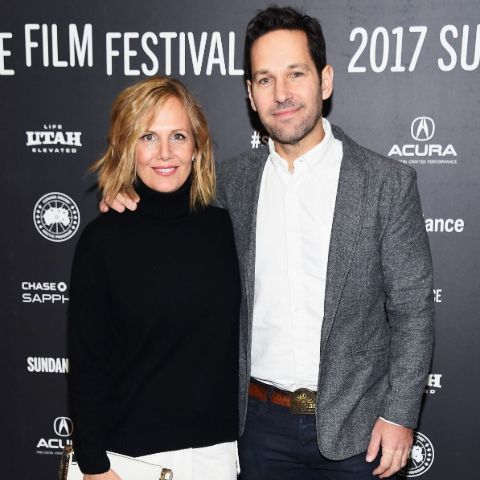 Paul Rudd at a red carpet event.