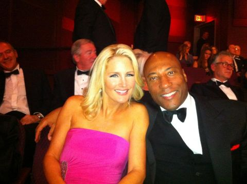 Byron and Jennifer at an event.