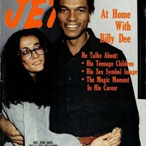 Jet Magazine Cover featuring Billy and Teruko.