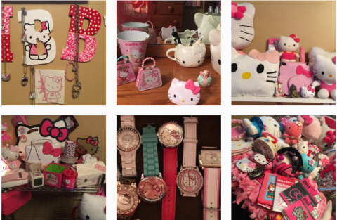 Libby Offutt's Hello Kitty Collection.